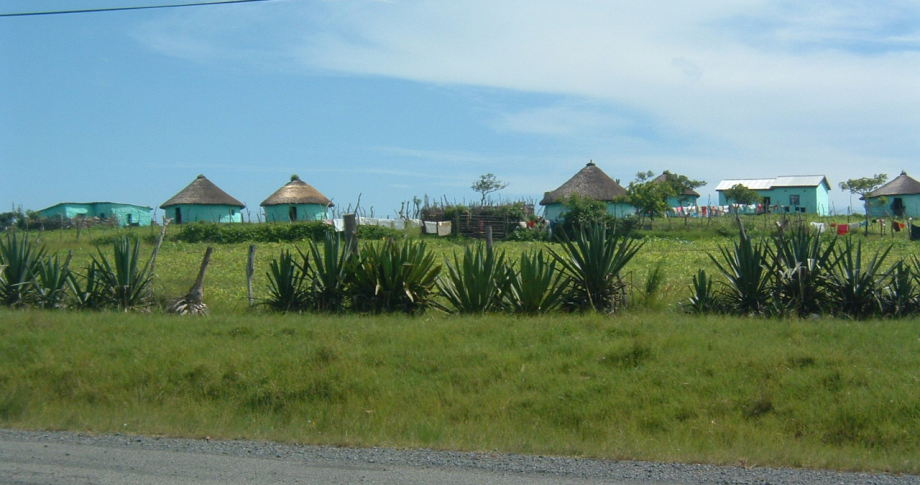 Dorf in Südafrika - village in South-Africa