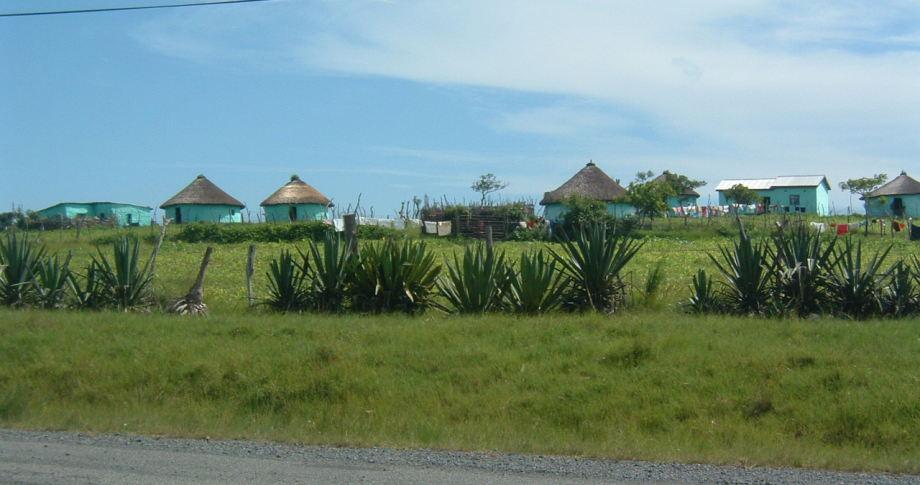 Dorf in Südafrika - village in South-Africa